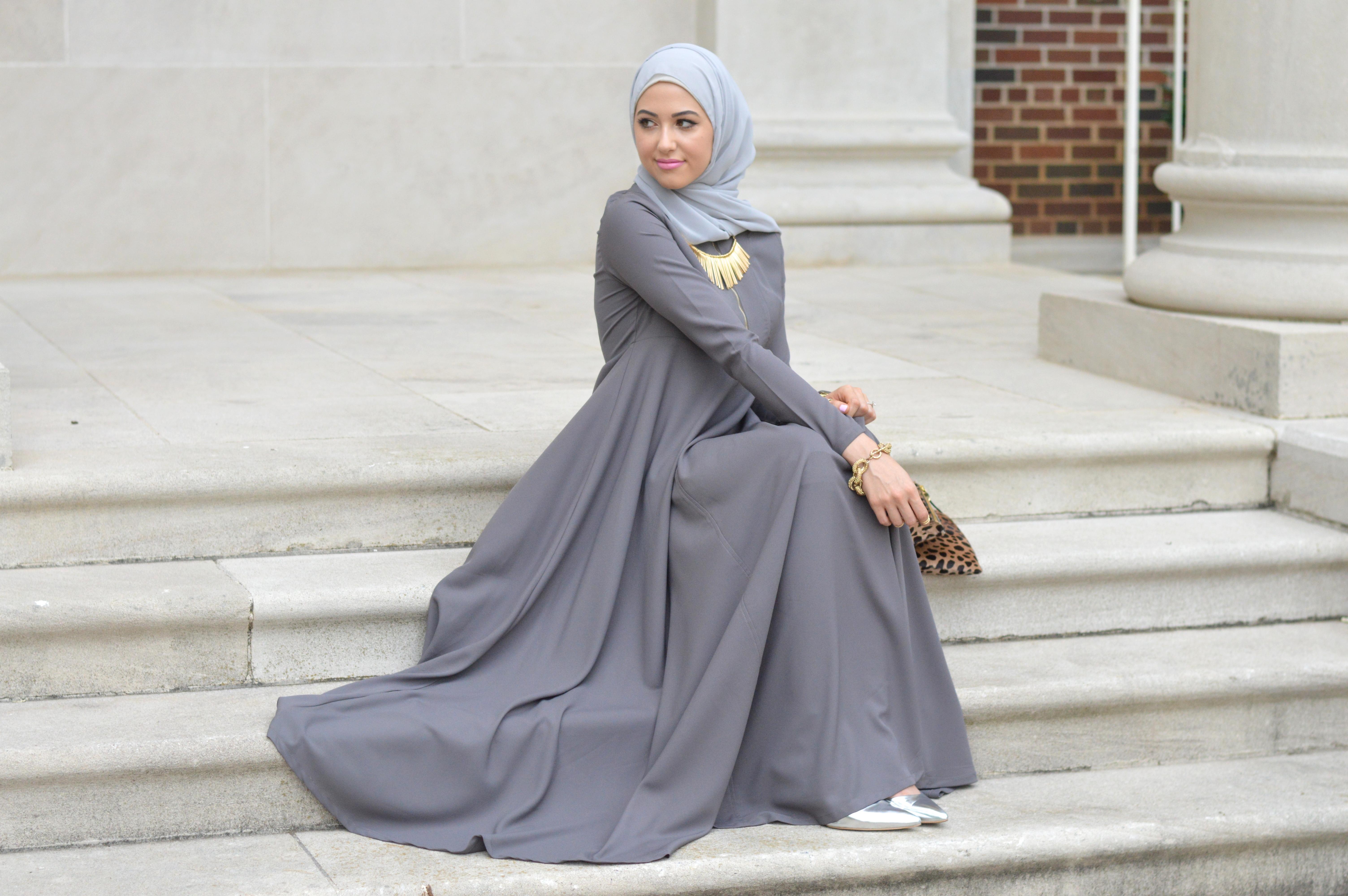 Trend Baju Gamis Remaja Modern Fashion style busana muslim terbaru
